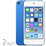 Apple iPod Touch 64GB (6th Gen) - Blue (MKHE2LL/A)