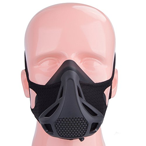 Fitness Training Mask Hypoxic Mask for Gym, Running, Cycling, Cardio, Fitness, Endurance-Sport Workout Resistance Mask