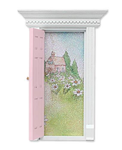 (Child to Cherish Tooth Fairy Door, Pink)