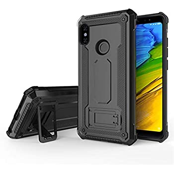 Amazon.com: Redmi Note 5 Pro Heavy Duty Case DWaybox 2 in 1 ...