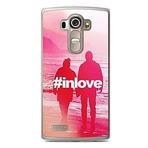 Loving LG G4 Transparent Edge Case - Hashtag in love