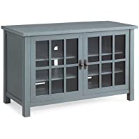 Better Homes and Gardens Oxford Square TV Console for TVs up to 55,Blue