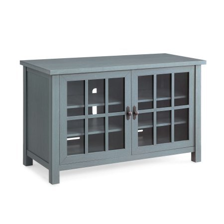 Better Homes and Gardens Oxford Square TV Console for TVs up to 55 ,Blue