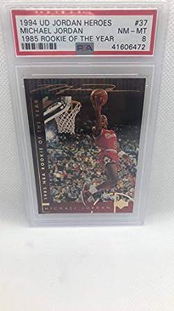Amazoncom 1994 Upper Deck Jordan Heroes 37 Michael Jordan
