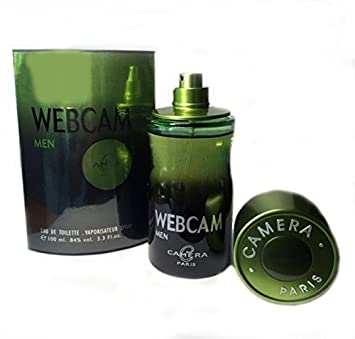 Webcam Cologne for Men Eau De Toilette Spray 100ml / 3.4 Fl.oz By Camera