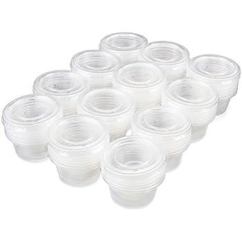 706c3f56da29 Amazon.com - Yosoo Bulk Disposable Plastic Chutney Cups with Lids ...