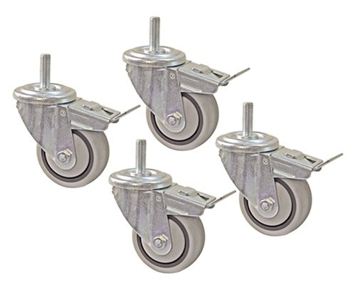 "Kreg PRS3090 3"" Dual Locking Caster-Set, 4 Piece"