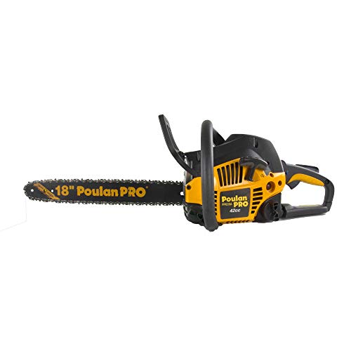 """Poulan Pro PP4218A 18"""" 42CC 2 Cycle Gas Powered Tree Chainsa"""