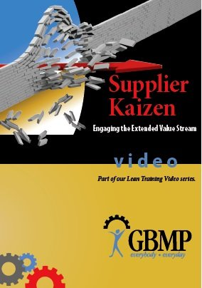 Supplier Kaizen: Engaging the Extended Value Stream Lean Training DVD from GBMP