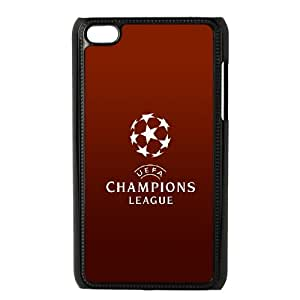 iPod Touch 4 Case Black Champions League Red Pqtgo