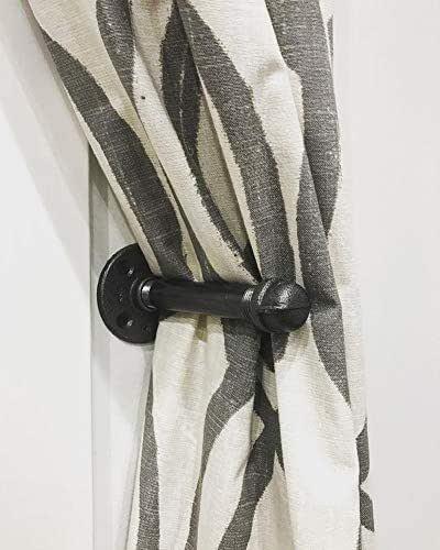 Amazon.com: Elegant Bedroom Curtain Holder, Industrial