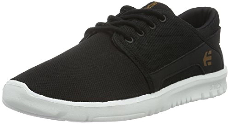 Etnies Unisex Kids' Scout Low-Top Sneakers, Black (Black/White/Gum979), 9 Child UK 27.5 EU