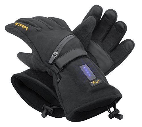 Volt Resistance Fleece Heated Gloves Large Black by Volt Resistance