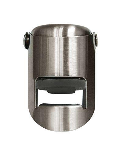 (Vinotemp Stainless Champagne Stopper)