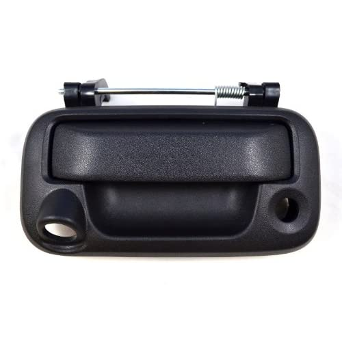 Outside Door Handle Black Tailgate Rear Exterior Textured