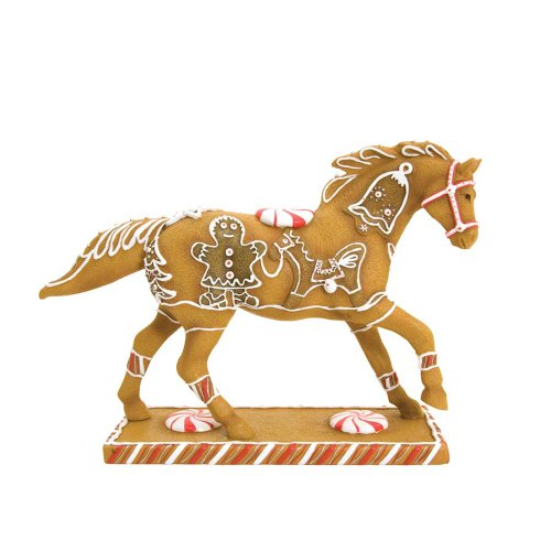 Enesco Trail of Painted Ponies Gingerbread Pony Figurine 6-1/4-Inch ()