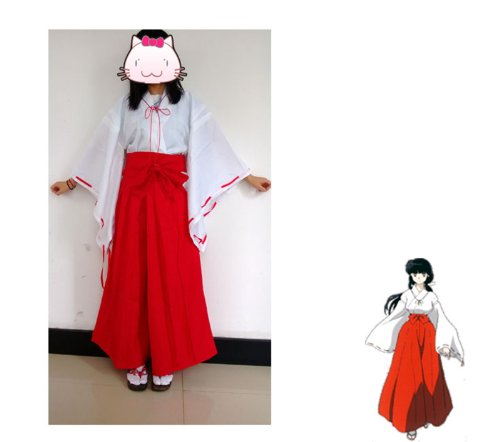 with Inuyasha Costumes design