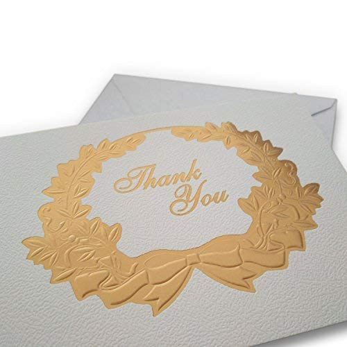 % 80 OFF/Luxury Thank You Cards - With