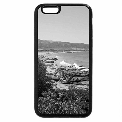 iPhone 6S Case, iPhone 6 Case (Black & White) - Falasarna, Chania