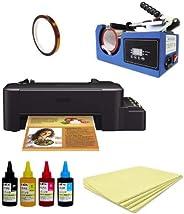 Impressora A4 L120 Sublimatica + Prensa + Fita + 500 Folhas