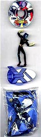 Nightcrawler Action Figure with Mini CD-ROM - 2002 Burger King X-Men Evolution Series (Xmen Evolution Series)