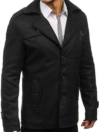 Invierno 3127 BOLF De Abrigo Negro MIX Hombre vq8xtw01C