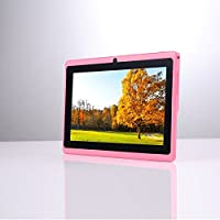 Unlimited Cellular 7 Inch Android Wi-Fi Tablet for Kids - Front Camera & Selfie
