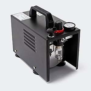 Aerógrafo mini-compressor modelo AS18B, compacto