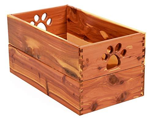 Dynamic Accents Pet Toy Box Cedar
