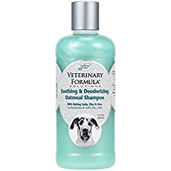 SynergyLabs Veterinary Formula Soothing and Deodorizing Oatmeal Shampoo with Baking Soda, Zinc and Aloe Vera; 17 fl. oz.