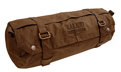 Kakadu Canvas Hat - Motorcycle Fork Bag- Waterproof Motorbike Oilskin Canvas Saddlebag Front Rear Tool Pouch