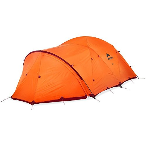 MSR Remote 4-Season 3-Person Mountaineering Tent with Dome Vestibule
