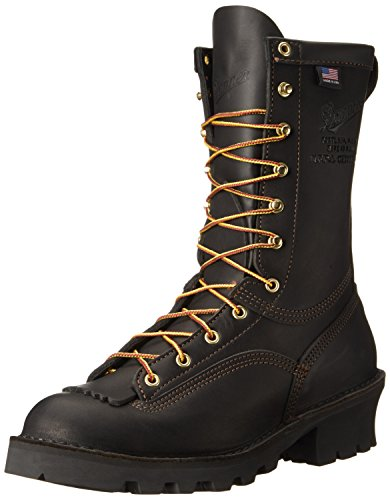 (Danner Men's Flashpoint II Black Leather Work Boots 18102 - 12 D(M) US )