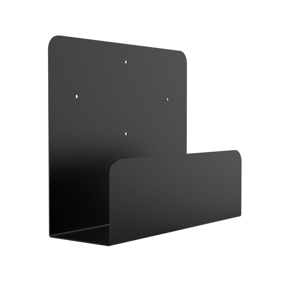 Oeveo Side Mount 142-10H x 4W x 12D | Computer Wall Mount for Lenovo ThinkCentre SFF, Dell OptiPlex SFF, and other Computers | SCM-142