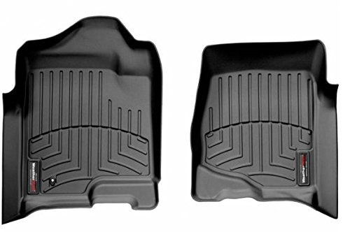 (WeatherTech 440661 Custom Fit Front FloorLiners (Black))
