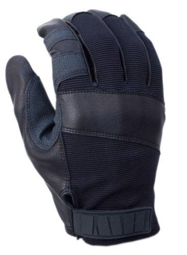 Rope Gloves Fast - HWI Gear PRL100 Rappelling/Fast Roping Gloves, Medium, Black