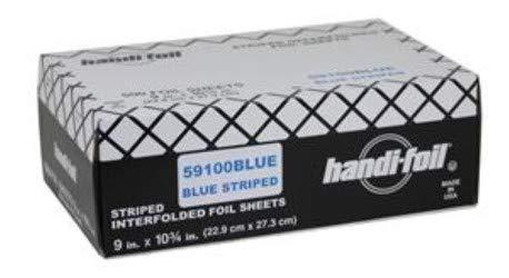 Handi Foil Blue Foil Sheets - 3000 per case. by Handi-Foil