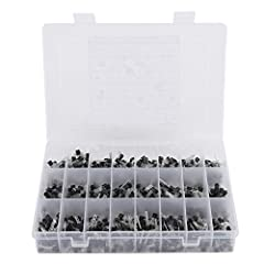 Assorted transistor kit with plastic storage box which covers frequently-used Values for general purpose! All products are tested for stability, consistency and reliability. Ensure product excellence. This product is widely used in product d...
