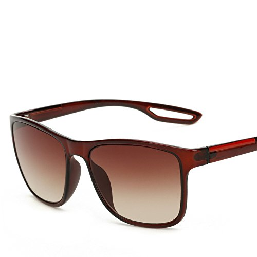 marrón Limotai Playa Conducción Libre Sol Sol Cuadradas Viajes Gafas Uv400 Vintage Hombres De Negro De De Gafas Al Aire Solgafas De rPrwTqCR