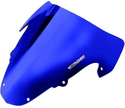 Yana Shiki SW-2004CBU R Series Chrome Blue Windscreen for Suzuki GSX-R (Gsxr1000 Blue Windscreen)