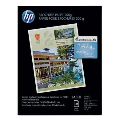 Paper (Hp Color Laser Glossy Photo Paper)