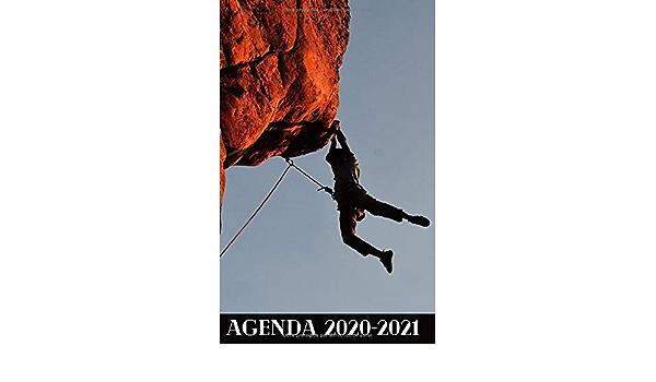 Agenda Escolar 2020 2021 / 300 páginas / Portada : ESCALADA ...