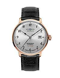 Graf Zeppelin LZ129 Hindenburg Series II Automatic Dress Watch with Rose Goldtone Case 7068-1