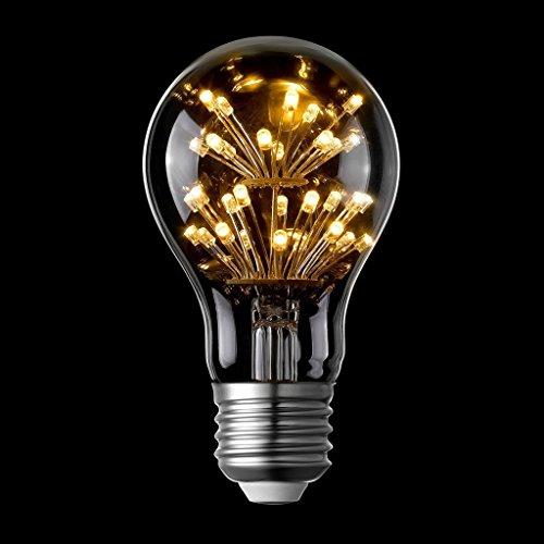 LIGHTSTORY Starry LED Bulb, E26 Base 2200K A19 Edison Decorative LED Light  Bulbs, Non-Dimmable