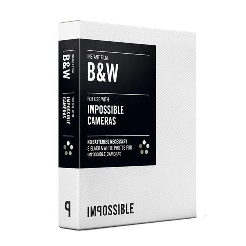 Impossible PRD2790 Film for Impossible Cameras (Black/White)