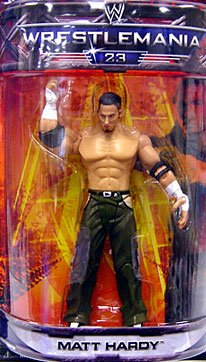 WWE Summer Slam Road to Wrestlemania 23 Exclusive Series 3 Action Figure Matt Hardy by WWE