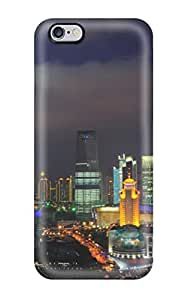 Fashion Tpu Case For Iphone 6 Plus- Shanghai Nights China Defender Case Cover