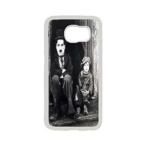 movie star Charles Chaplin phone Case Cove For Samsung Galaxy S6 SM-G920 XXM9197048