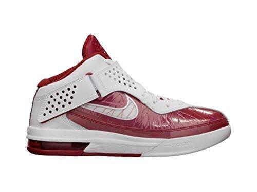 Nike Air Max Soldaat V Tb Basketbal Van Vrouwen Schoen Wit / Rood