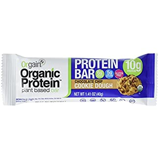 Organic Protein Bars by Orgain, 4 Flavors, 12 Count